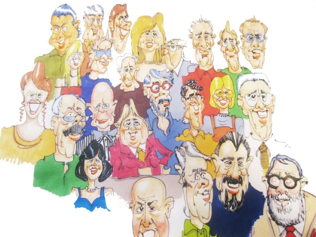 caricatures eddie o'keeffe